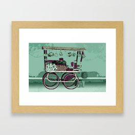 FRUIT STOP Framed Art Print