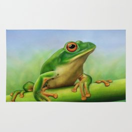 Moltrecht's Green Treefrog Rug