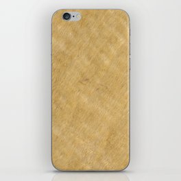 Black Limba Wood iPhone Skin
