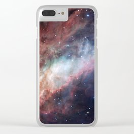 Astrophotography, The Omega Nebula Clear iPhone Case