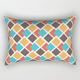 Geometric art deco Rectangular Pillow
