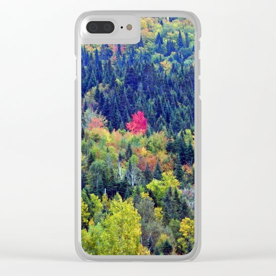 Be Bold and Stand Out Clear iPhone Case