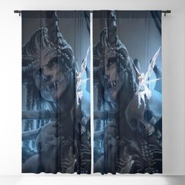 Tooth and Bone Blackout Curtain