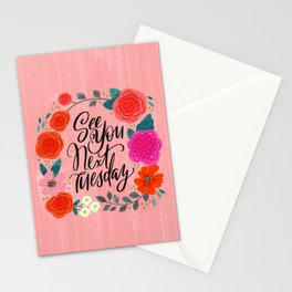 Pretty Sweary 2.0: See You Next Tuesday Stationery Cards