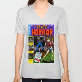 The Crate of Horror Unisex V-Neck