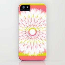 Trippy Mandala iPhone Case