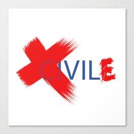 ciVILE™ Canvas Print