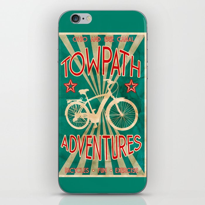 TOWPATH ADVENTURES iPhone Skin