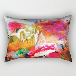 We Dwell in Possibility Rectangular Pillow
