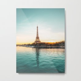 Eiffel Tower, Paris France v1 Metal Print