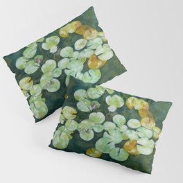 Tranquil lily pond Pillow Sham