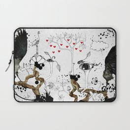 One step aside reality Laptop Sleeve