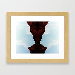 Praying Mantus Framed Art Print