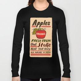 Fresh Apples Long Sleeve T-shirt