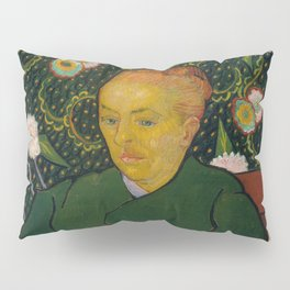 Vincent van Gogh - La Berceuse (Woman Rocking a Cradle; Augustine-Alix Pellicot Roulin, 1851–1930) Pillow Sham