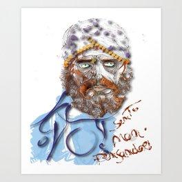 Mustafa' Art Print