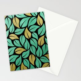 falling leaves XII Stationery Cards