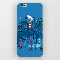 The Cat in the Underground Flat iPhone & iPod Skin