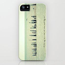 A Fish May Love a Bird... iPhone Case