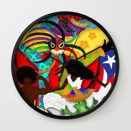 Boriken Wall Clock