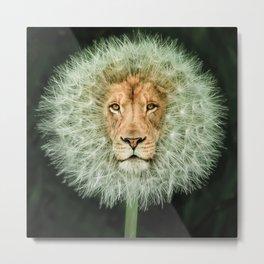 Dan The Lion Metal Print