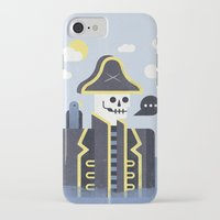 men iPhone & iPod Cases featuring Dead Men Tell No Tales by Chase Kunz