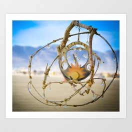Sun Mandala Art Print