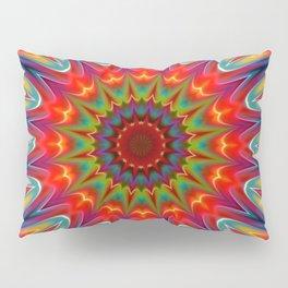 Colors kaleidoscope pattern Pillow Sham