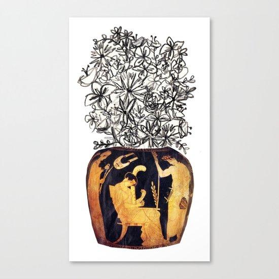 flowers for caligula Canvas Print