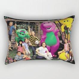 Demi and Sel #1 Rectangular Pillow