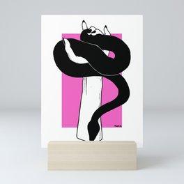 The Charmer Mini Art Print