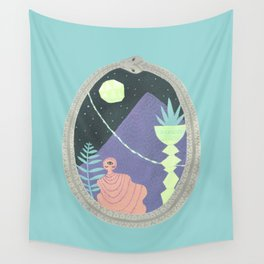 Ouroboros 1: Moon Mountain Wall Tapestry