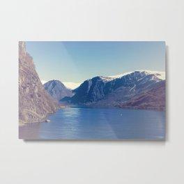 Sognefjord I Metal Print