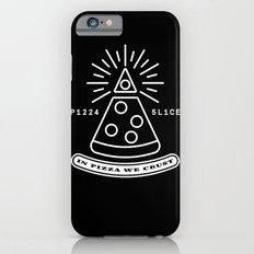 Dollar Slice BLACK Slim Case iPhone 6s