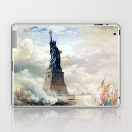 Statue of Liberty Unveiling Laptop & iPad Skin