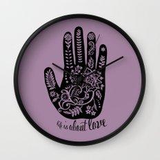 Life and Love Wall Clock
