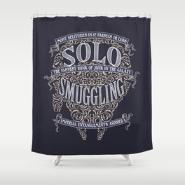 Solo Smuggling Shower Curtain