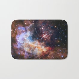 Star Cluster in the Milky Way Bath Mat