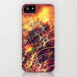 Butterfly Lights iPhone Case