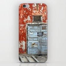 Forsaken House III iPhone & iPod Skin