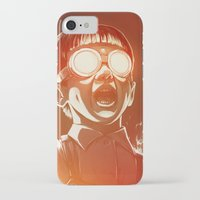 akira iPhone & iPod Cases featuring FIREEE! by Dr. Lukas Brezak