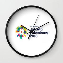 Asian Games 2018 Wall Clock