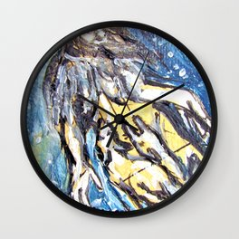 Queen of Wolves Wall Clock
