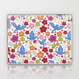 Fly with flowers Laptop & iPad Skin