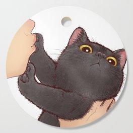 cat : huuh Cutting Board