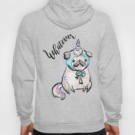 Funny Pug, Unicorn Pug, Funny Dog, Cute Pug, Cute Dog, Puppy dog, Unicorn dog Hoody