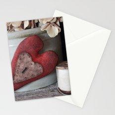 Vintage Heart Vignette Stationery Cards