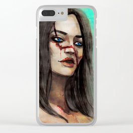 Live to Tell the Tale | Faoiltiarna Clear iPhone Case