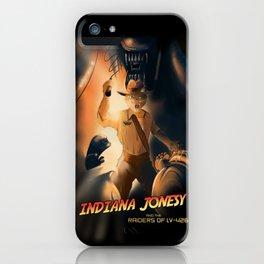 Indiana Jonesy iPhone Case