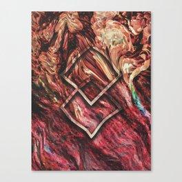 DESCENT INTO MADNESS Canvas Print